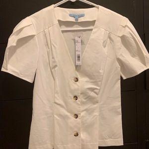 *GREAT DEAL* Antonio Melani White Dress Shirt
